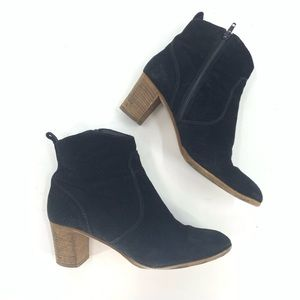 J.Crew Bootie Short Ankle Boots Suede Leather 8.5